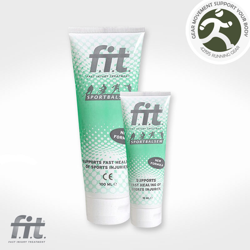Dutch FIT sport activated protective cream to relieve muscle sore ness strain injury 42195