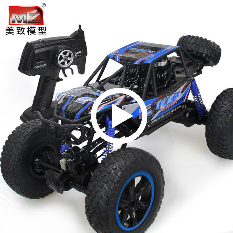 oversized electric remote-controlled sport utility vehicle four-wheel drive high-speed climbing racing boy charging children's toys Car 6-year-old 3