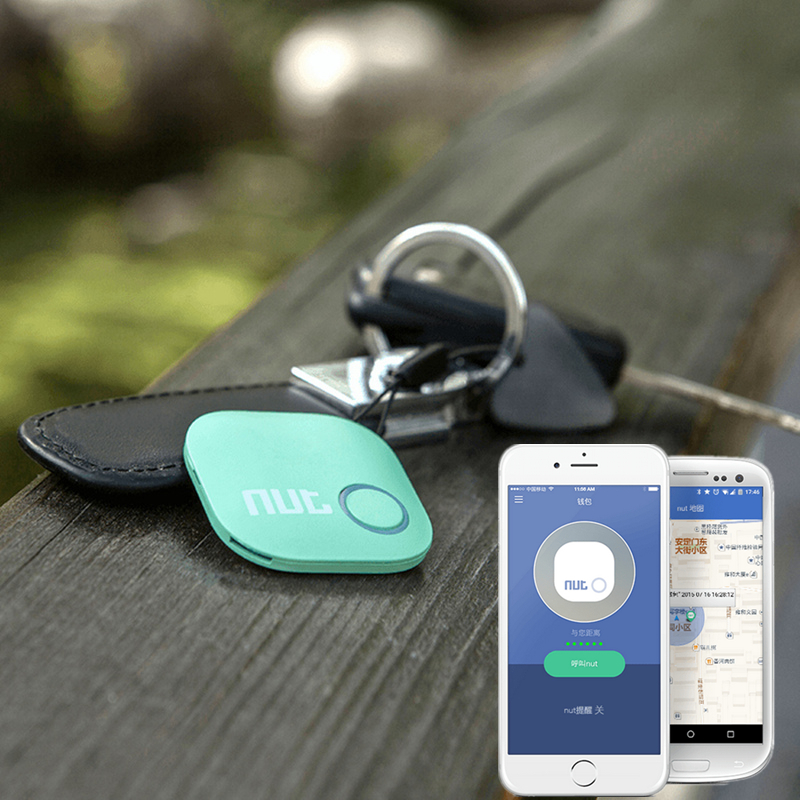 nut2 intelligent anti-lost artifact artifact Bluetooth keychain find something wallet item location loss alarm