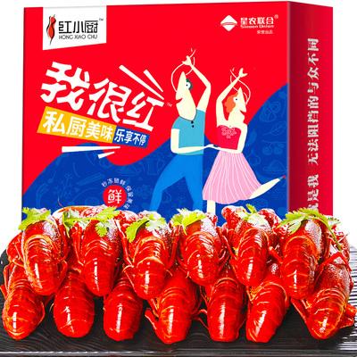 【红小厨】麻辣十三香小龙虾净重2斤