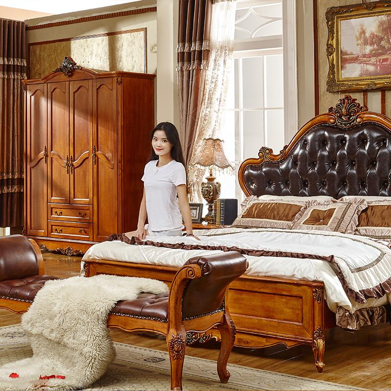 Кровать из массива дерева Fasuona  1.8 1.5