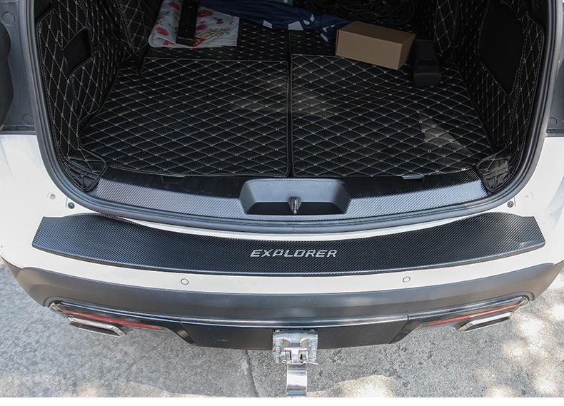 Miếng dán chống trầy bậc cửa và cốp xe Ford Explorer 2013 - 2019 - ảnh 20