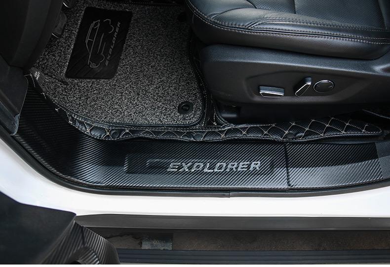 Miếng dán chống trầy bậc cửa và cốp xe Ford Explorer 2013 - 2019 - ảnh 13