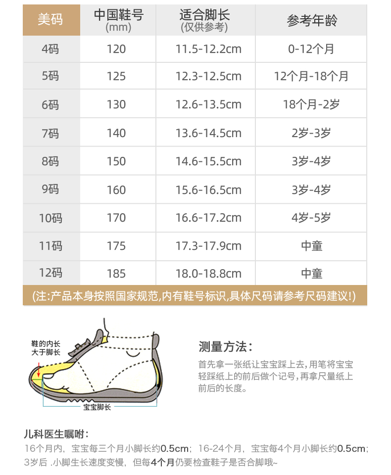 基诺浦秋季款机能鞋幼儿学步鞋男女童网面运动鞋详细照片