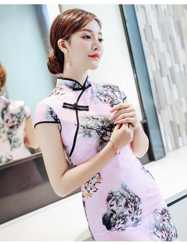 姿彩人生少女旗袍连衣裙(八) - 花雕美图苑 - 花雕美图苑