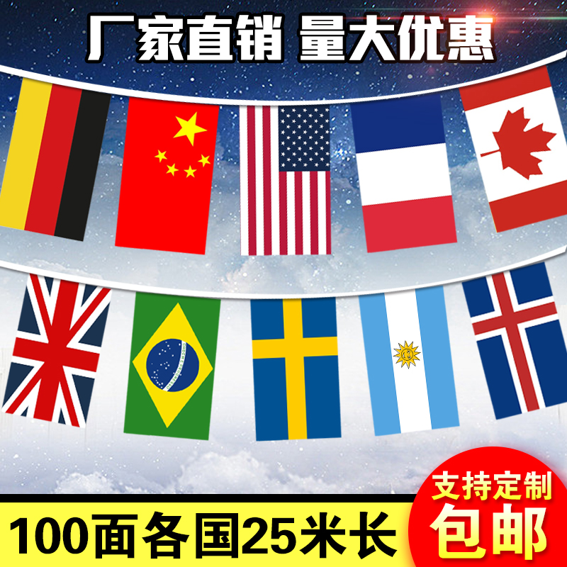 Usd 15 32 National Flags Of All Countries Flags Decorative
