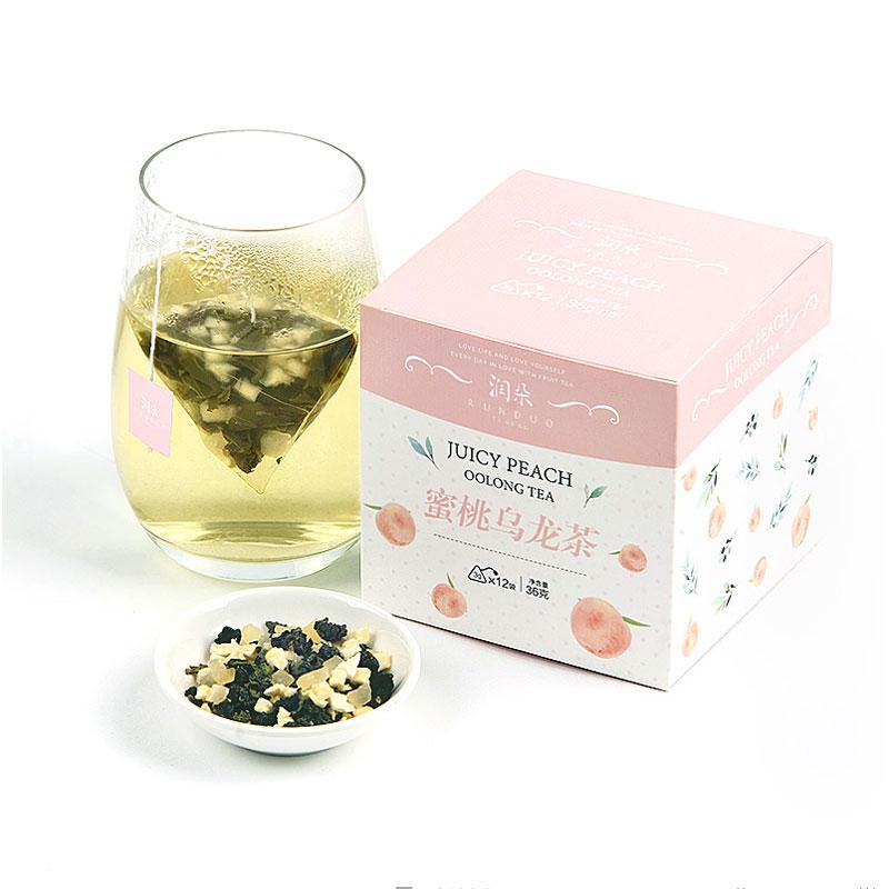 买2送1蜜桃乌龙茶白桃乌龙茶润朵花果水果茶袋泡茶包冷泡茶叶组合