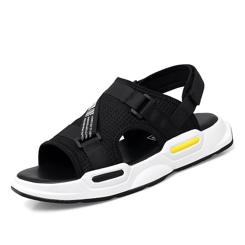 夏季增高凉鞋男2020新款男士凉鞋潮流百搭运动休闲沙滩鞋两用外穿