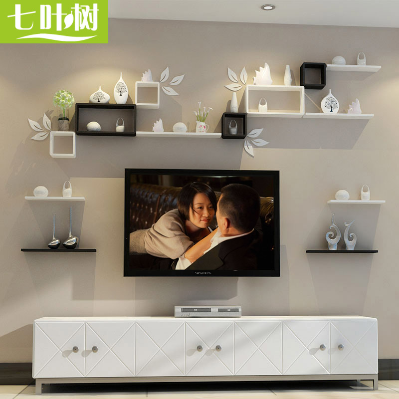 Usd 3448 Living Room Tv Background Wall Decorative Rack Bedroom