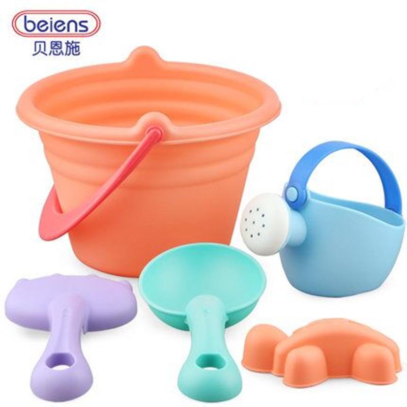 贝恩施儿童沙滩玩具套装玩沙子挖铲子工具决明子宝宝戏水洗澡玩具_领取5元天猫超市优惠券