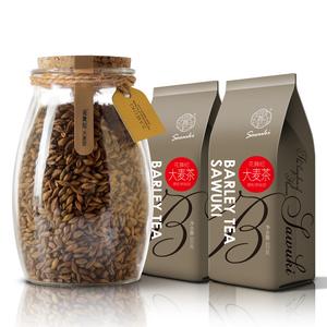 买1发3大麦茶原味宜搭苦荞除祛花草茶正品非湿袋泡去湿黑荞麦气