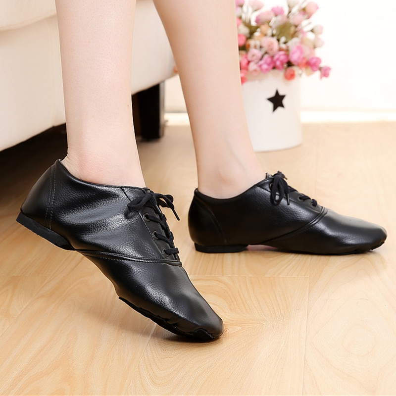 Usd 1480 Dance Shoes Women Soft Bottom Jazz Shoes Low Cut Leather