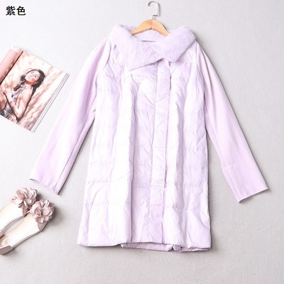 208474 Women's winter lapel zip long-sleeved jacket