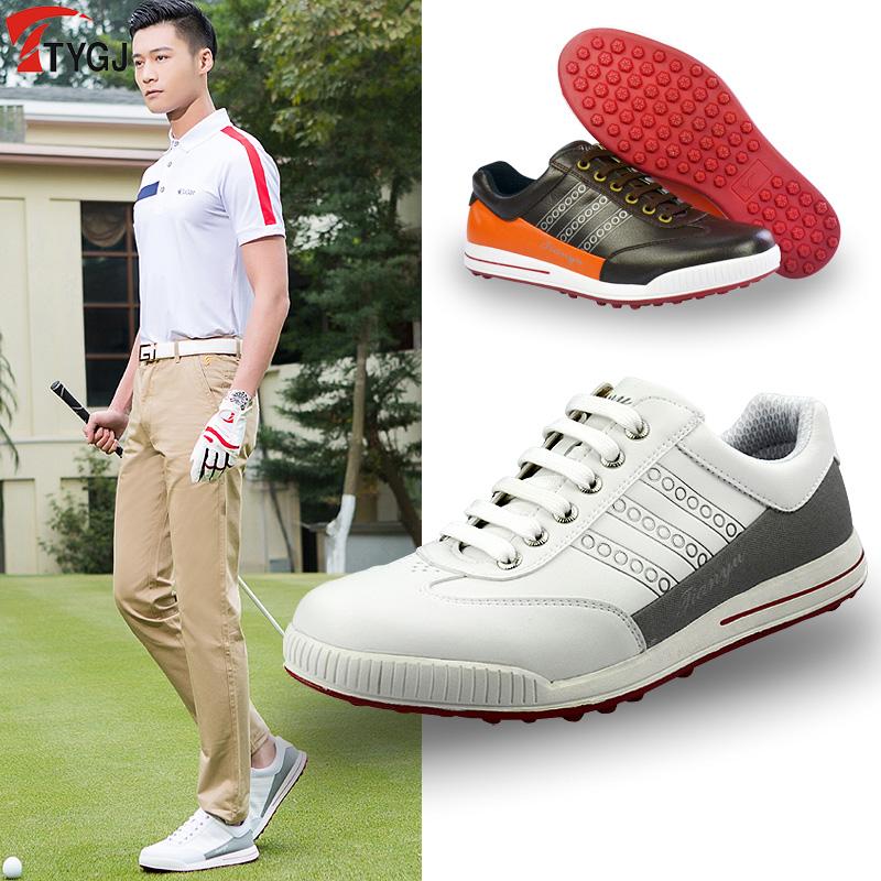 Mới TTYGJ golf giày nam giày thường giày không thấm nước golf nam golf Authentic