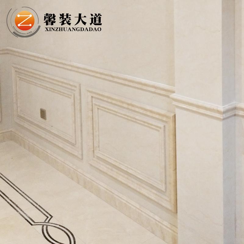 Каменный пластик копия Мраморная линия полосатый Плитка линии 6 см стены стены стены полосатый дверь Установите линию линии юбки полосатый