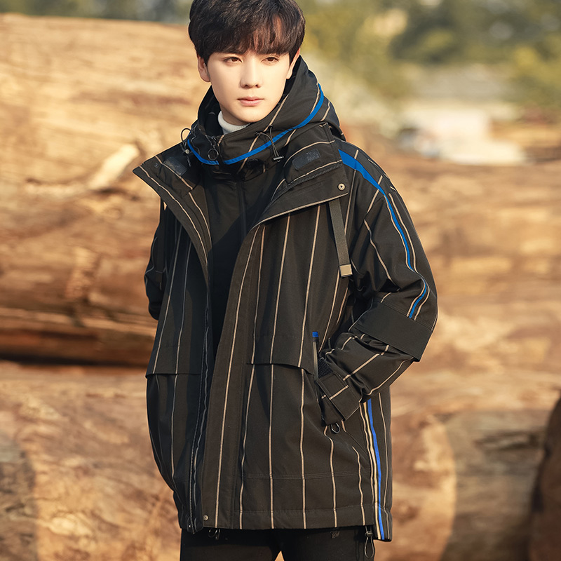 2018 new winter new Korean loose Hooded Down Jacket Men's Trend Short Jacket students Tide brand