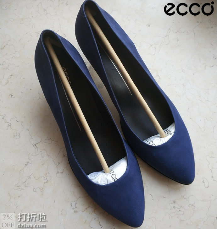 ECCO 爱步 Shape 45 型塑45 女式浅口单鞋 高跟鞋 38码 镇店之宝¥386 中亚Prime会员免运费直邮到手约¥487
