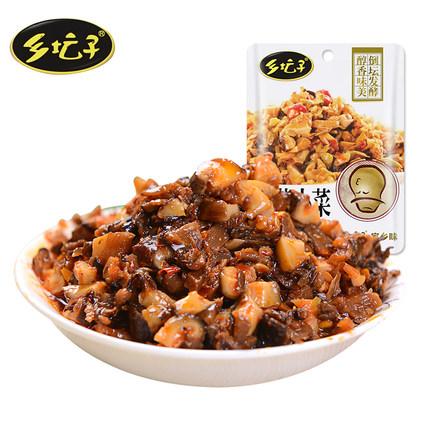 乡坛子 香菇小菜60g*20袋组合装香菇