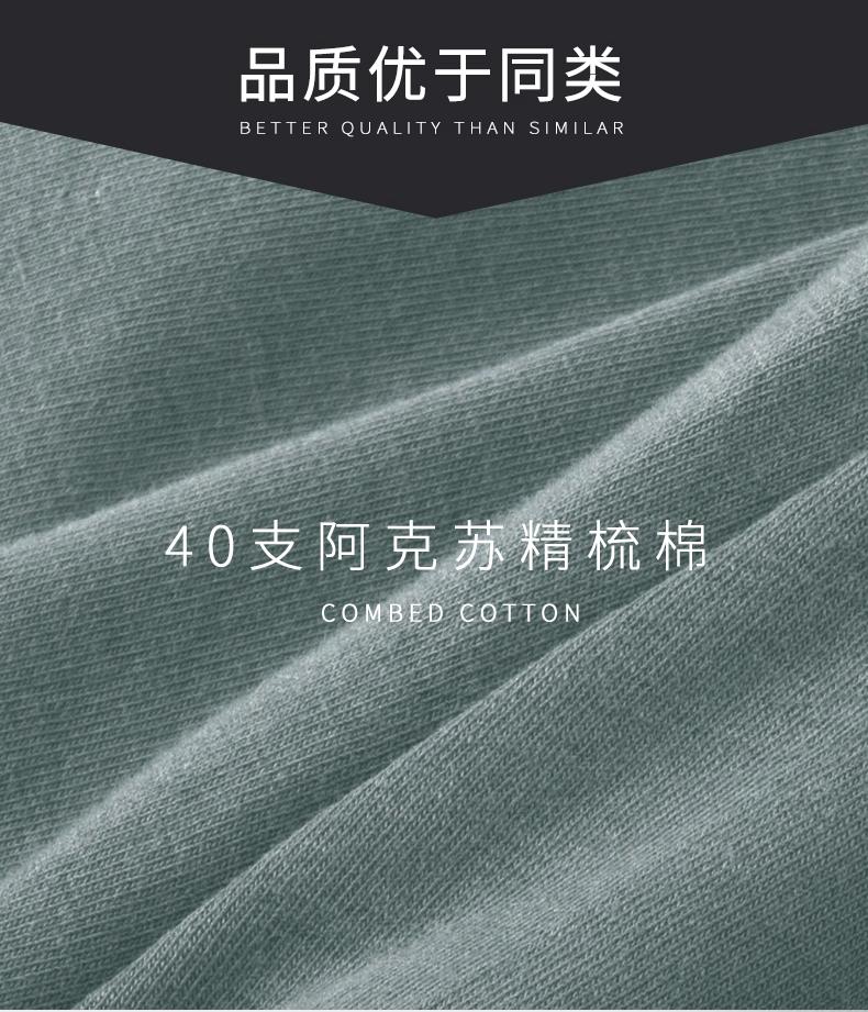 美国马球协会 US POLO 男士 100%精梳棉平角裤 3条 图9