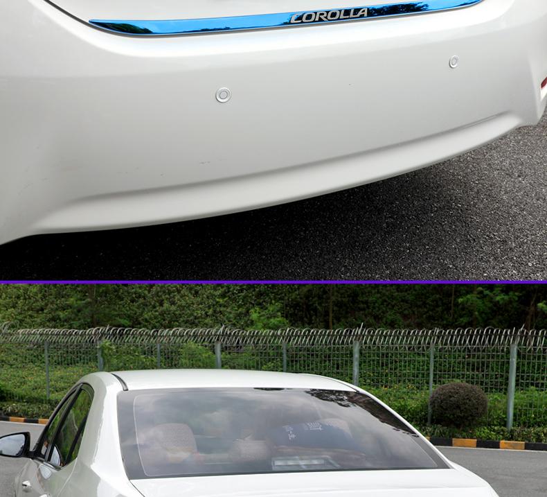 Ốp viền trang trí sau cốp Toyota Corola Altis 2014 - 2018 - ảnh 13