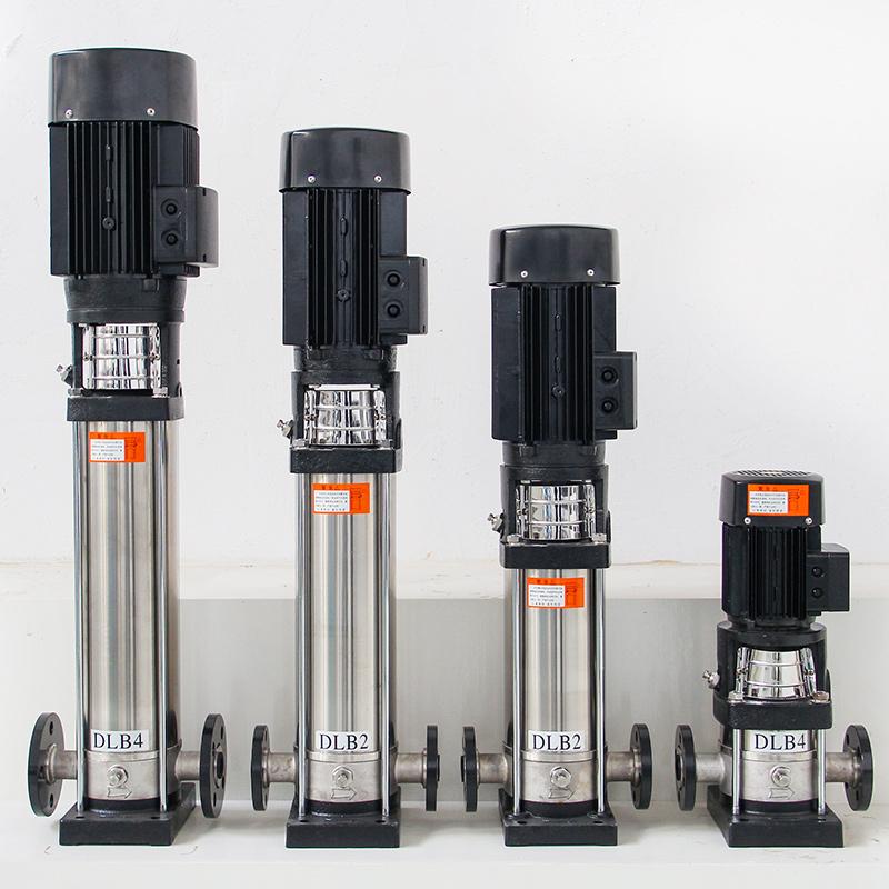 DLB12不銹鋼輕型立式多級離心管道泵高揚程高層供水增壓泵