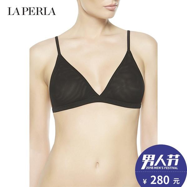 意大利奢侈内衣品牌 LA PERLA SEXY TOWN系列 无钢圈 网纱文胸 聚划算¥280包邮 3色可选