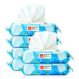 好孩子婴儿宝宝手口专用湿巾80抽6包