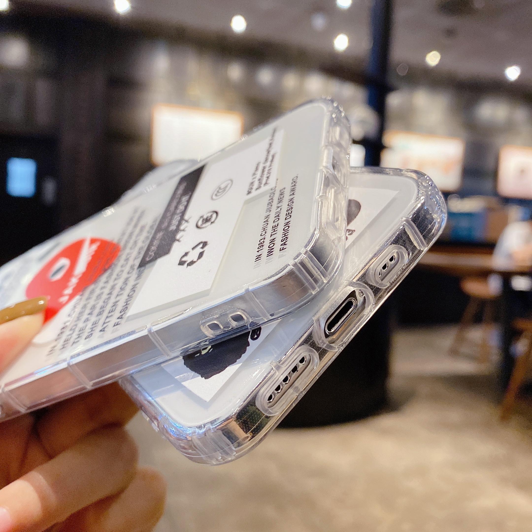 中國代購|中國批發-ibuy99|虎头标签OPPOA91/F15手机壳适用RENO5PRO透明A1K/REALMEC2欧美