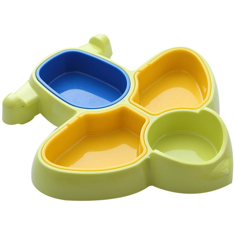 彩盒装宝宝餐具幼儿童分餐碗飞机碗宝宝学习碗婴儿吃饭餐盘餐具