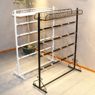 Wall hose shelf display frame showcases Medicine mobile phone case jewelry socks racks floor multi-function snack shelf