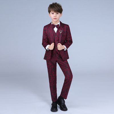 Children's Flower Suit Children's small suit suit children's dress children's suit