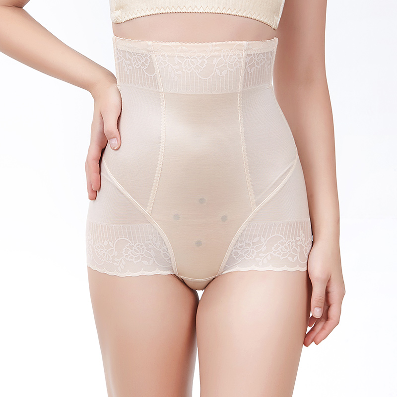 Arctic velvet summer thin medium and high-waisted plastic pants unmarked safety pants waist-to-waist waist-lifting hip-shaped underwear.