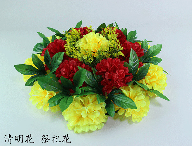 Usd 779 simulation chrysanthemum ring silk flower qingming flower simulation chrysanthemum ring silk flower qingming flower cheap grave flower fake flower worship flower decoration flower mightylinksfo
