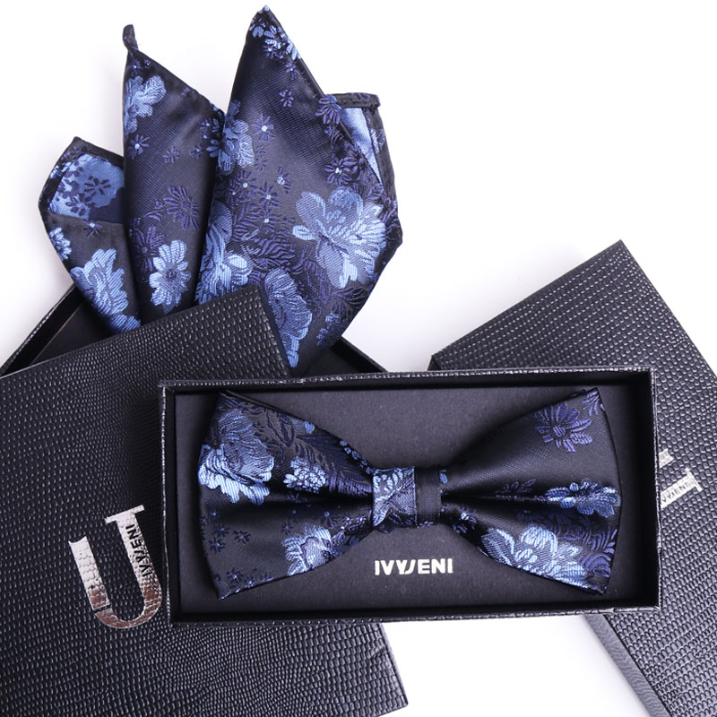 the latest 6f0d4 68866 Color classification red tie pure black cashew tie purple peony flower bow  tie blue peony flower