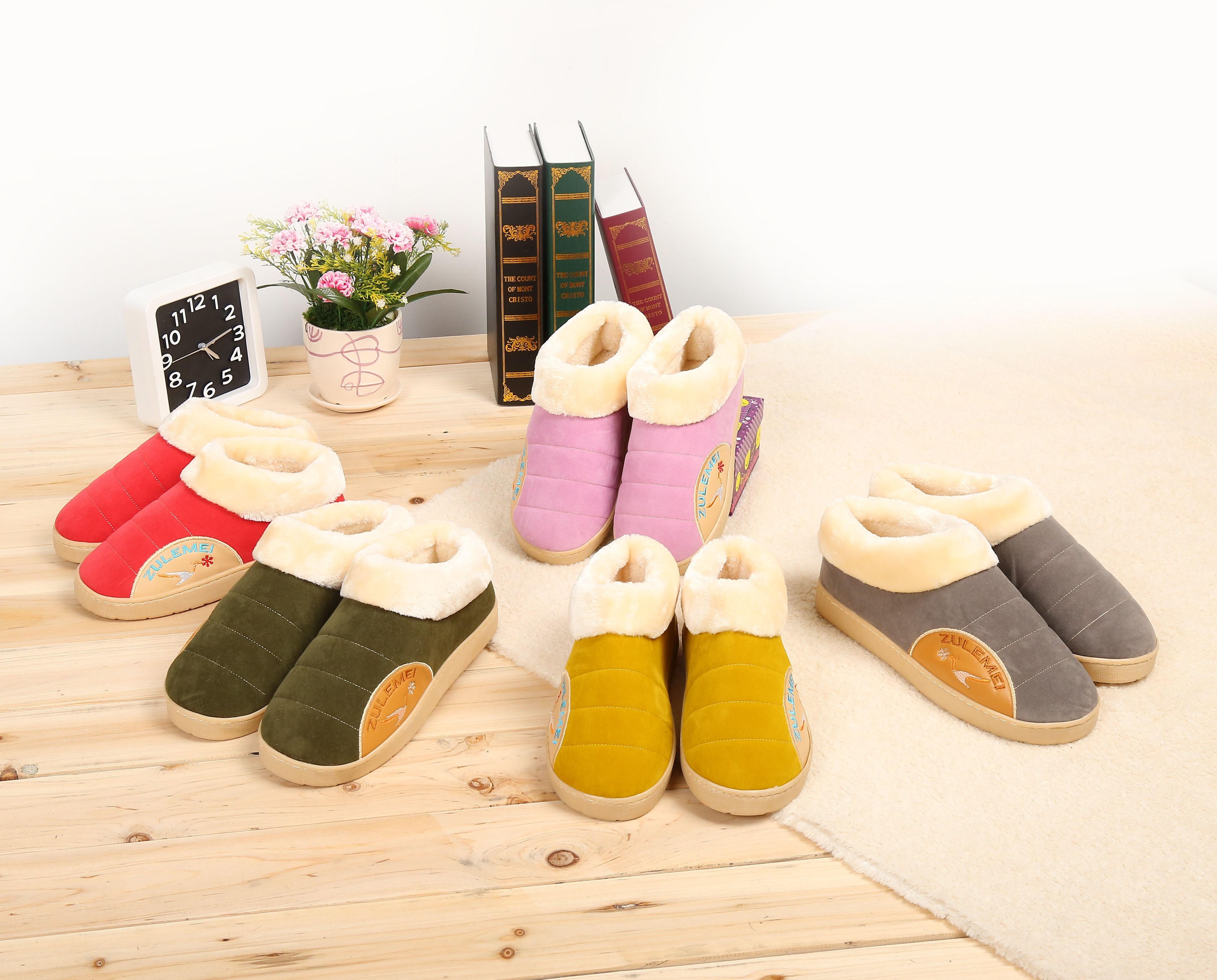 冬季居家男女暖脚宝插电式电暖鞋加热电热保暖鞋可行走充电棉拖鞋