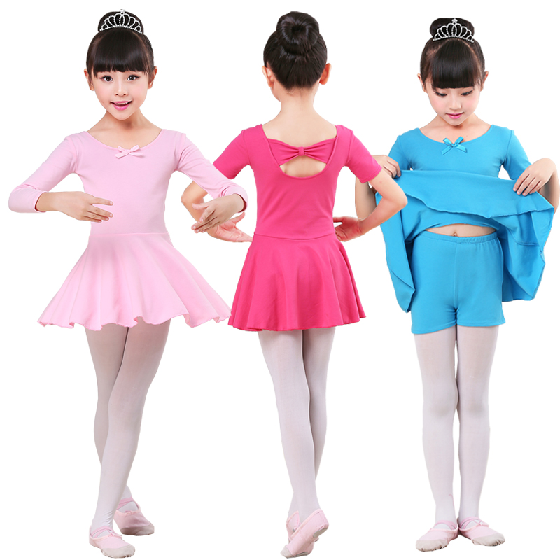 23428db54 Children s dance clothing girls practice clothes spring and summer ...