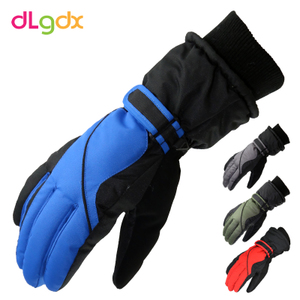 男女冬季加厚保暖骑车情侣手套