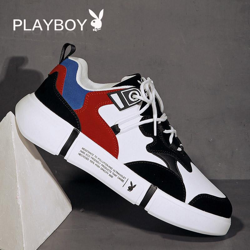 Плейбой мужской Обувь для обуви Harajuku мужской осень панель башмак мужской корейская версия Спортивная спортивная обувь Tide зимний для отдыха башмак