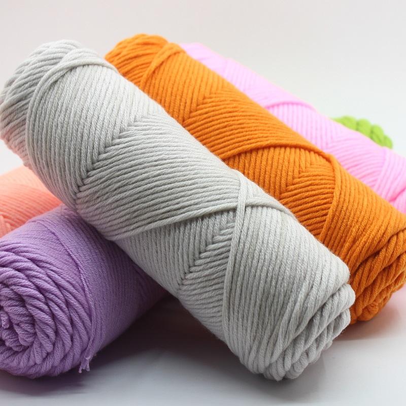 金藏 情人棉毛线 围巾线 粗毛线 宝宝牛奶棉线全棉男女织围巾毛线