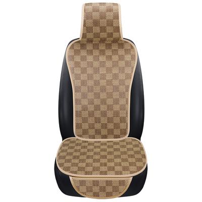 汽车坐垫夏季凉垫草席单片夏天透气货车座垫凉席车用四季通用车垫