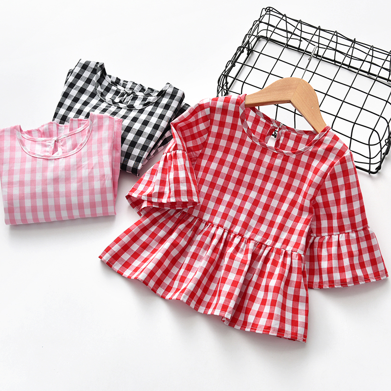 2018夏季新款女童T恤女恤衫上衣小童宝宝婴幼儿夏装体恤棉质t短袖