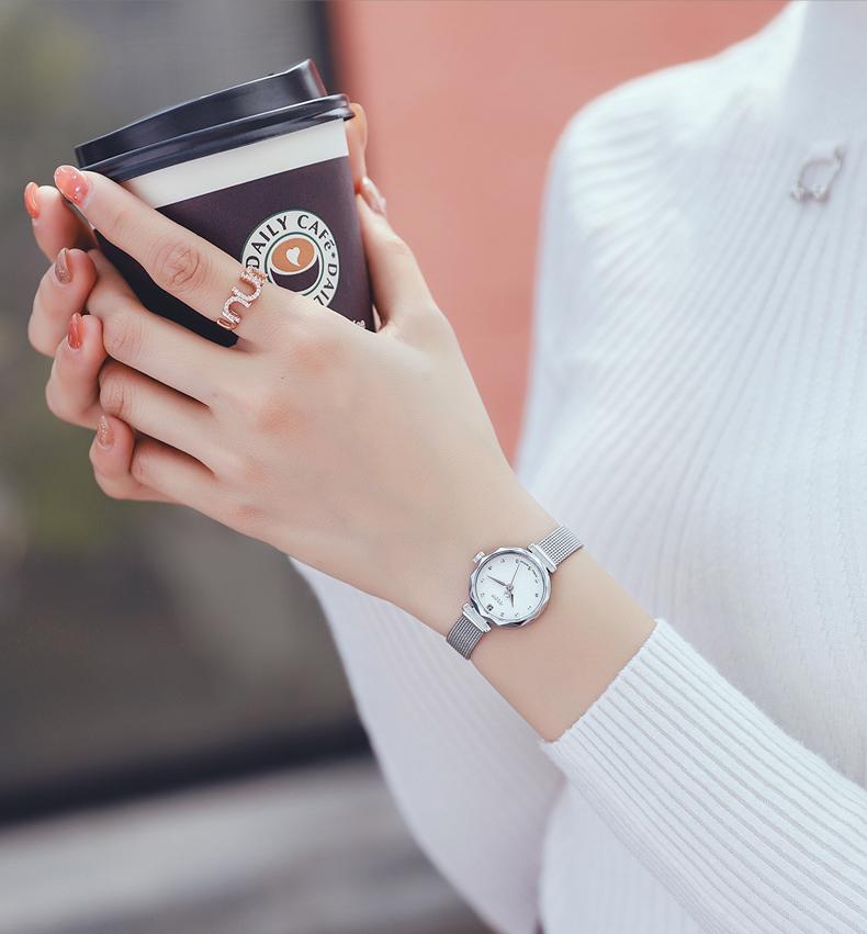 聚利时手錶女风小众轻奢年新款简约气质小巧精緻女士手錶详细照片