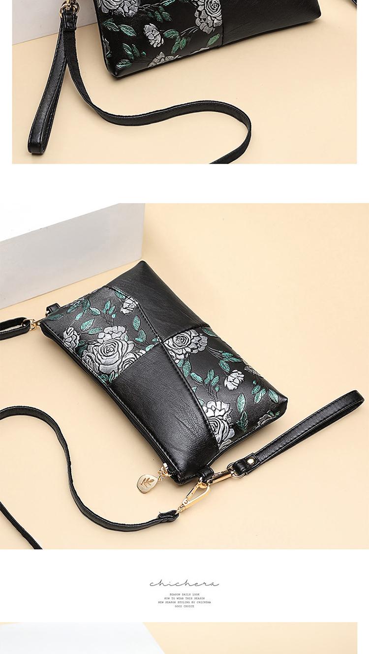 妈妈包新款小包包女中年百搭斜挎包时尚中老年女包手机零钱包详细照片