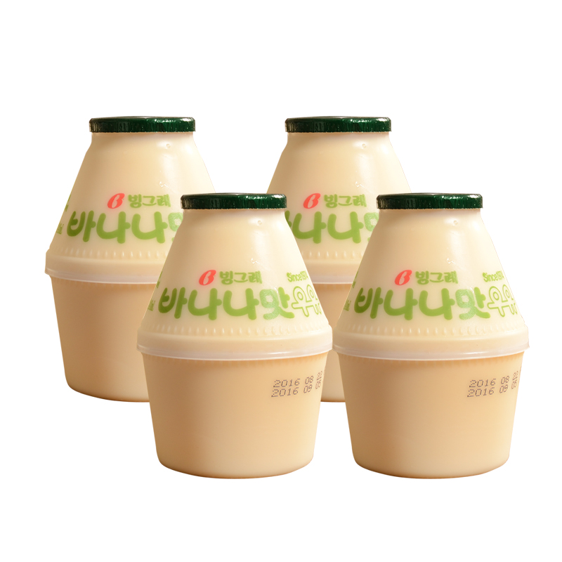 Usd 21 74 South Korea Imported Bingley Banana Milk Beverage 238ml Banana Milk Korean Bingley Breakfast Milk Wholesale From China Online Shopping Buy Asian Products Online From The Best Shoping Agent Chinahao Com