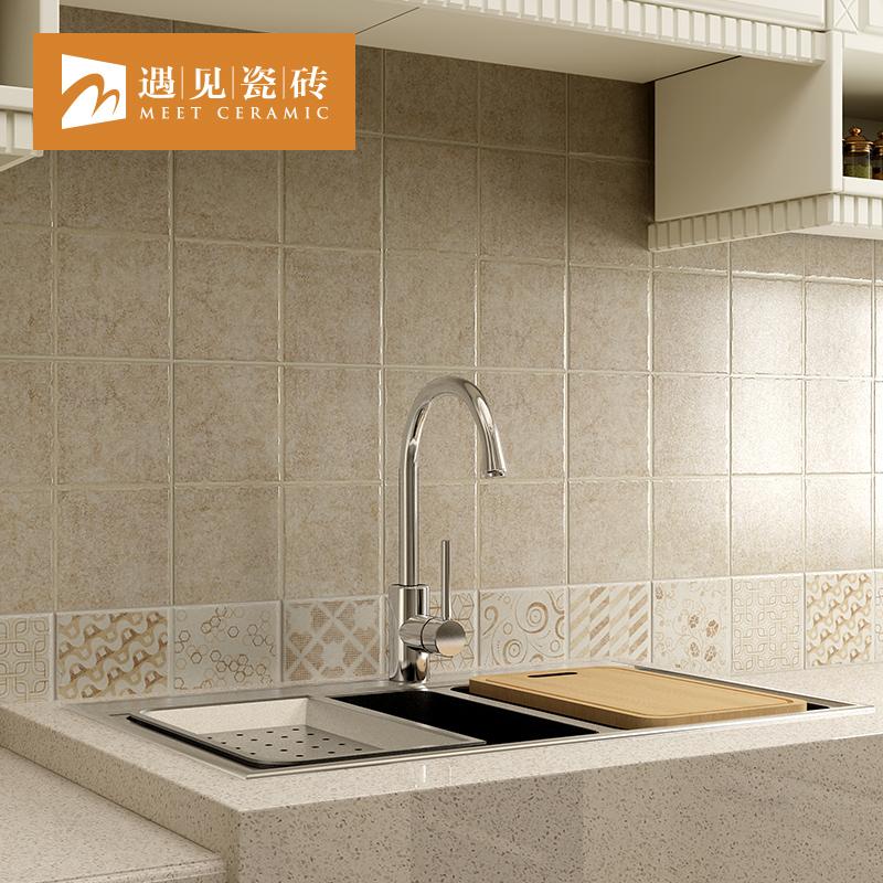 Встреча античный кирпич американский ванная комната керамическая плитка скольжение кирпич сетка кухня керамическая плитка стена туалет керамическая плитка 300