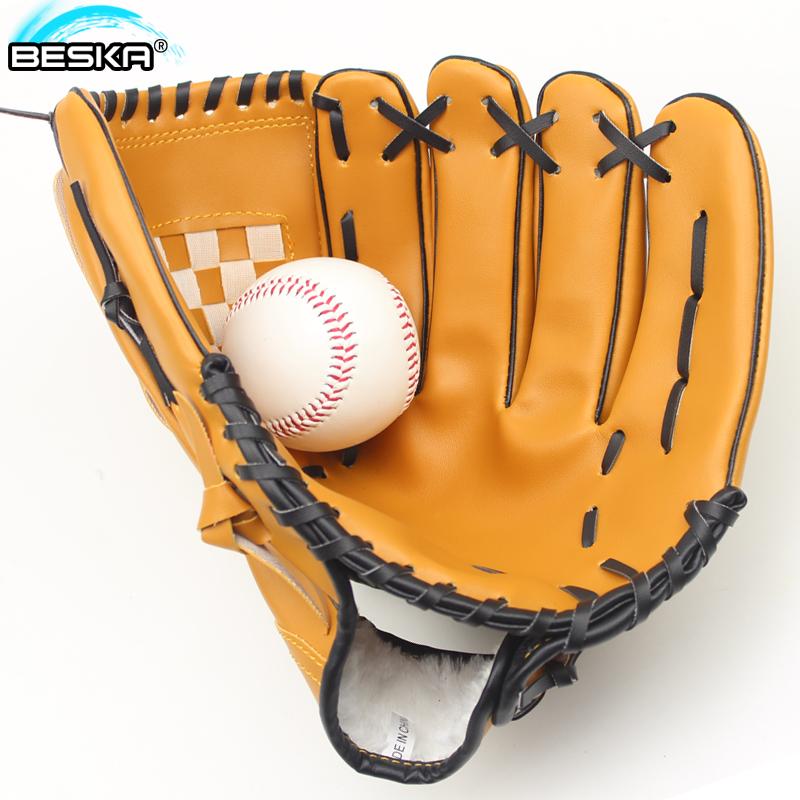 Бейсбол перчатки база игроки крышка ребенок подростков для взрослых полная сумма сгущаться литье рука перчатки отдавать бейсбол