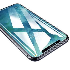 iPhone8鋼化膜iPhone7手機膜6plus全覆蓋xsmax抗藍光5/5s/5c/se防指紋xr原裝6p/6sp玻