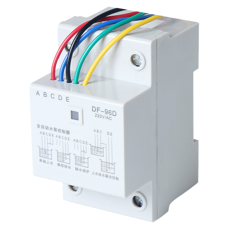 Automatic water level controller household relay switch 220v380v pump water  tower liquid level control box sensor