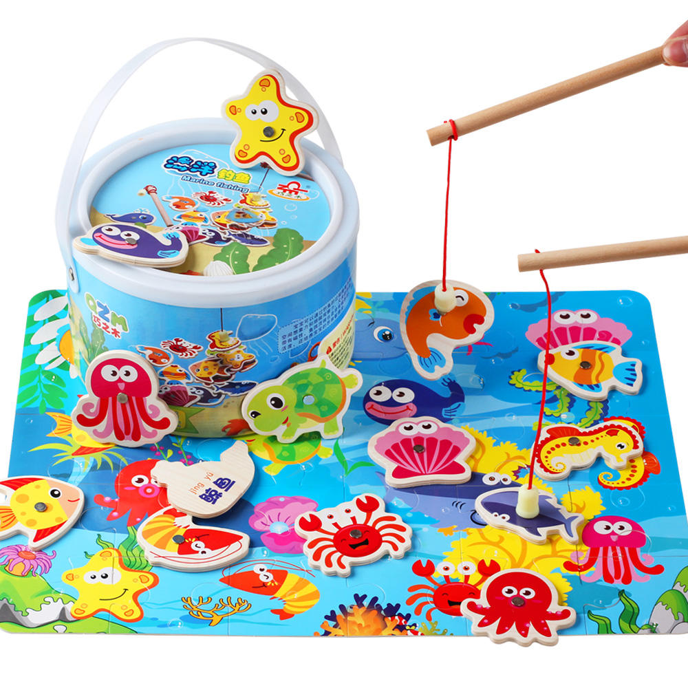 Usd 29 56 Magnetic Fishing Baby Puzzle Development Male Baby Girl