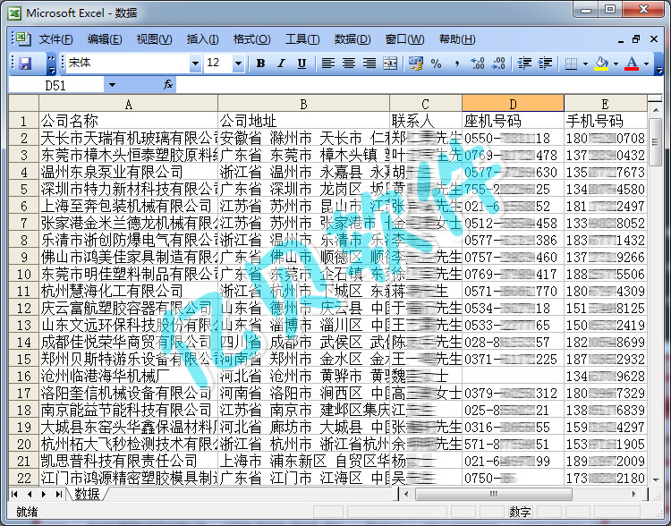 亿贝中国制造网商家信息数据采集软件